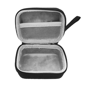 Image 5 - محمولة EVA سحاب غطاء واقٍ مزخرف لهاتف آيفون حقيبة التخزين صندوق للذهاب 2 سمّاعات بلوتوث