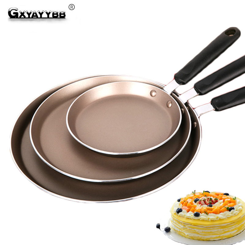 GXYAYYBB Aluminum Alloy Non-stick <font><b>Frying</b></font> <font><b>Pan</b></font> Thousand-layer Pots and <font><b>Pans</b></font> <font><b>3</b></font> Sizes Round Cookware with Box for Induction Cooker image