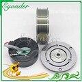 Pompe de refroidissement à Air conditionné A/C compresseur   Poulie d'assemblage d'embrayage TRSE09 pour Honda 2.4 Mk III RE 4991 38810RWCA02 4920