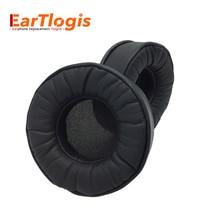 Eartlogis substituição almofadas para sony mdr zx330bt zx300 zx310 fone de ouvido peças earmuff capa almofada copos travesseiro