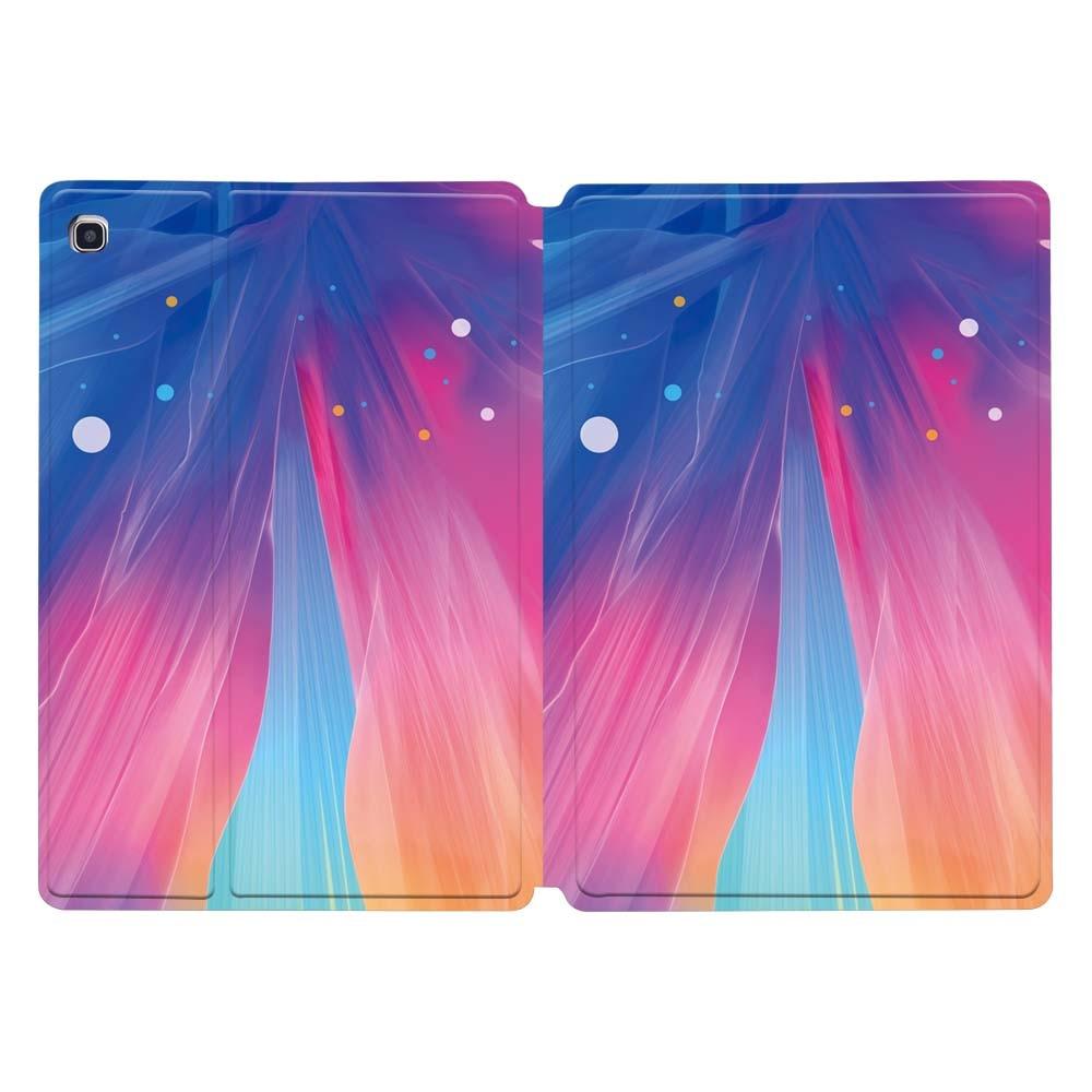 Разноцветный кожаный чехол-подставка для планшета Samsung Galaxy Tab A 10,1 T510 T515/TabA 7,0/9,7/10,5 дюймов/Tab E 9,6/Tab S5E 10,5-1