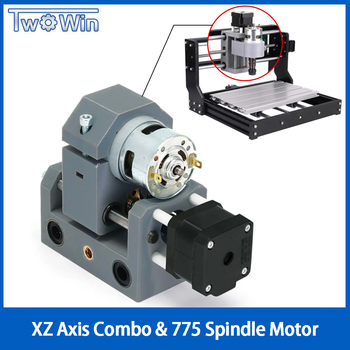 CNC 3018 / 3018-Pro/MAX  XZ Axis 775 Spindle Motor Drill Chunk Integrated Set DIY Upgrade Kit CNC Parts For Laser Engraver