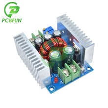 DC-DC 300w 20a atual constante ajustável step down módulo buck conversor dc 6-40v placa de tensão de energia proteção contra curto-circuito