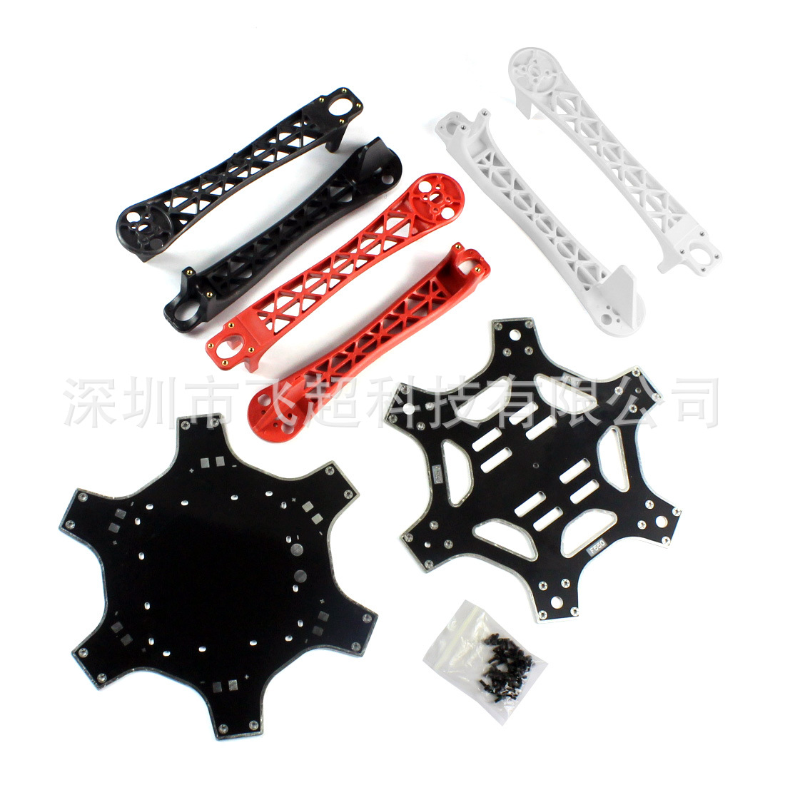 Unmanned Aerial Vehicle F550 Six-Axis Aircraft Parts Set 30A Electrical Adjustment Excluded Remote Control/Battery/Charger