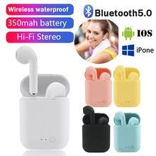 Mini-2 TWS Wireless Earphones Bluetooth 5.0 Headphones Sports Earbuds Handsfree Headset With Mic for iPhone Samsung HUAWEI MI
