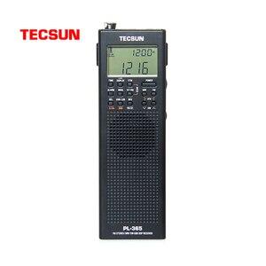 Image 1 - Original tecsun PL 365 mini portátil dsp etm ats fm estéreo mw sw mundo banda rádio estéreo pl365 cor cinza I3 002