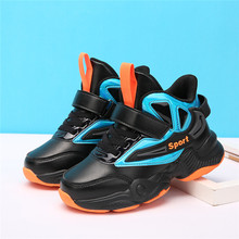Children Sneakers Kids Shoes Fashion Basketball Shoes Boys Snow Shoes Teenagers Hiking Shoes Outdoor Sports Non-Slip Shoes cheap VOSONCA Autumn Winter Rubber Mesh Latex Unisex Fits true to size take your normal size Anti-Slippery Hook Loop casual shoes