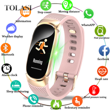 цены New Sport Smart Bracelet Women Men Waterproof Smart Watch Heart Rate Blood Pressure Pedometer Smart Wristband For Android iOS