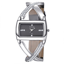 Luxury Brand Gogoey Women Watches Unique Fashion Designer Rectangular Dial Crystal Quartz uhr damen horloge dames