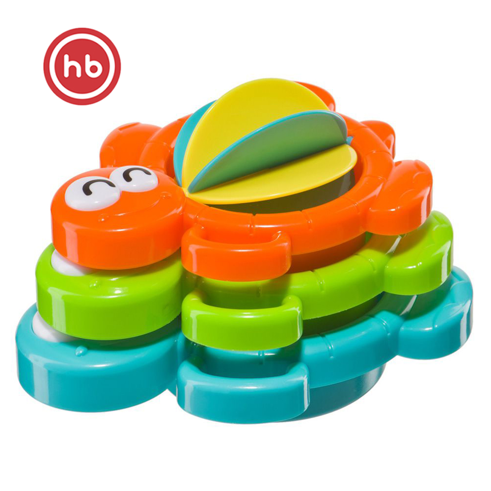 Bath Toy Happy Baby 330070 toys for swimming bathroom toys Multicolor Plastic Unisex happy baby swimming turtles 331843