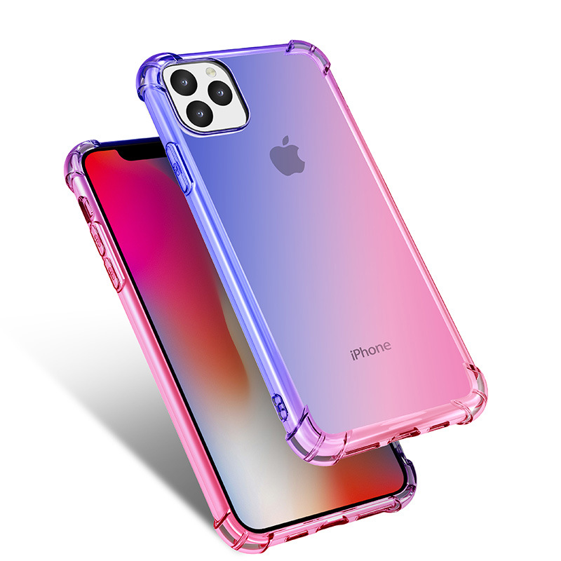 Gradient Clear Silicone Case for iPhone 11/11 Pro/11 Pro Max 21