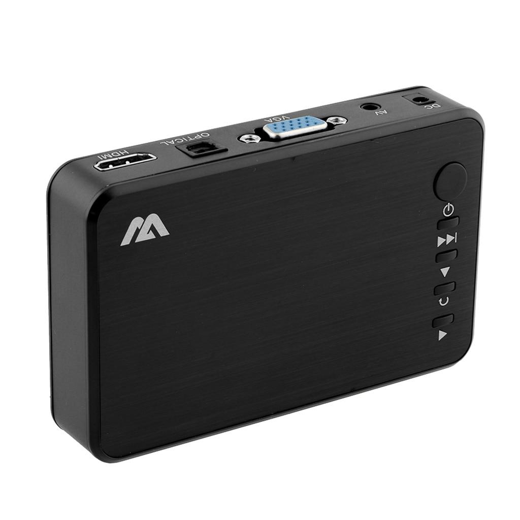 1080P Full HD Multi-Media Player 1080P-TVBOX USB HDMI SD/MMC TV Media Play