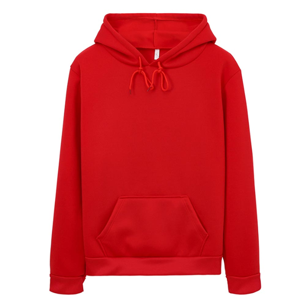 Hoodies Women Sweatshirt Casual Solid Colors Velvet Thickening Warm Tops 2020 Winter Long Sleeve Oversized Pullover With Pocket 3