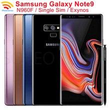 Samsung Galaxy Note9 Note 9 N960F 90% новая глобальная версия 6,4