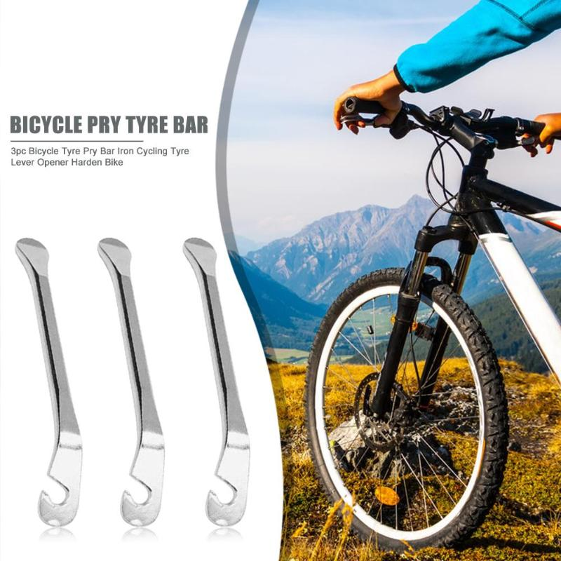 Pack 3 Pcs Bike Bicycle Mini Tyre Tire Levers Pry bar Tools Repair Three Pieces