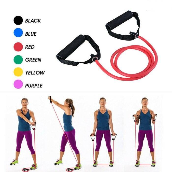 Nova resistência esportiva bandas de fitness elástico