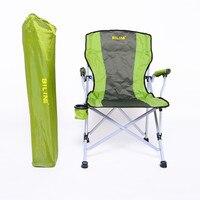 Cadeira dobrável de alumínio praia cadeira portátil ao ar livre almoço break reclinável