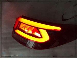 Image 3 - 1pcs auto bupmer fanale posteriore per Kia K2 KX Croce luce posteriore Rio freno 2017 ~ 2019LED accessori auto luce di coda per KX Croce luce posteriore