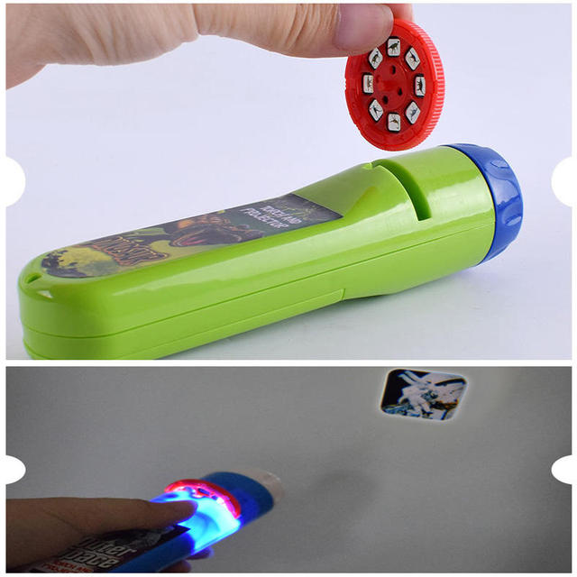 Balleenshiny Parent-child Interaction Puzzle Early Education Luminous Toy Animal Dinosaur Child Slide Projector Lamp Kids Toys 4