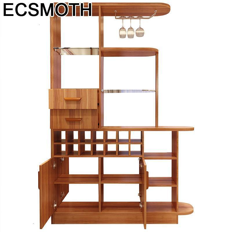 Kast Desk Mobilya Gabinete Table Display Vetrinetta Da Esposizione Kitchen Shelf Commercial Furniture Mueble Bar Wine Cabinet