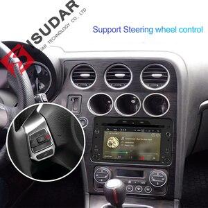 Image 5 - Isudar 1 Din Android 9 Automotivo Radio For Alfa/Romeo/Spider/Brera/159 Sportwagon Car Multimedia player GPS DVD Octa Core DSP