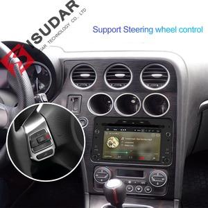 Image 5 - Isudar 1 Din Android 9 Automotivo Radio Voor Alfa/Romeo/Spider/Brera/159 Sportwagon Auto Multimedia speler Gps Dvd Octa Core Dsp