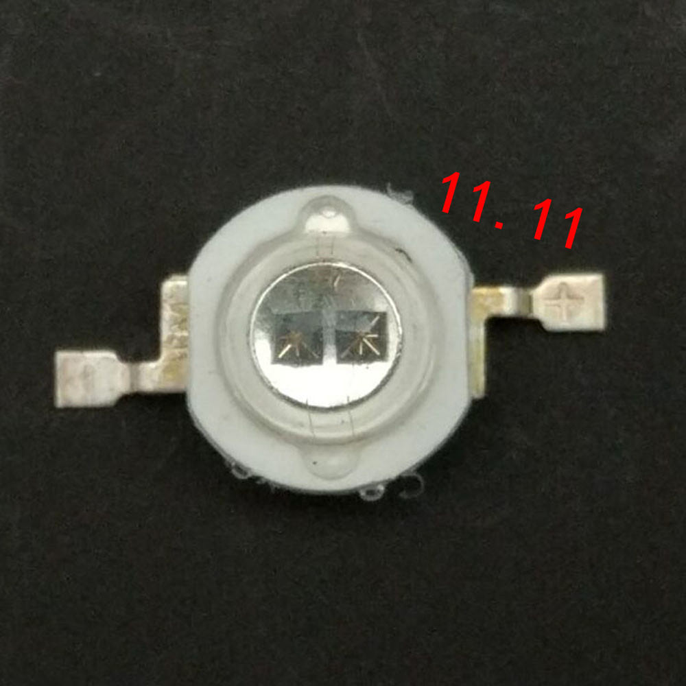 Lâmpada infravermelha infravermelha do diodo emissor de luz 940nm da disposição do ir das microplaquetas 2 w 2 para a segurança invisível