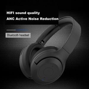 Image 5 - Шумоподавляющие наушники ZOHAN BT30NC с активным шумоподавлением, беспроводные наушники с микрофоном, стереонаушники с басами и Bluetooth, Накладные наушники