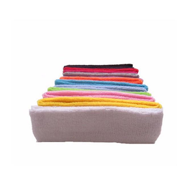 1 Piece High Quality Cotton Antiperspirant Belt Sports Unisex Sweat Headband Running Basketball Yoga Hairband Elastic Headband 1