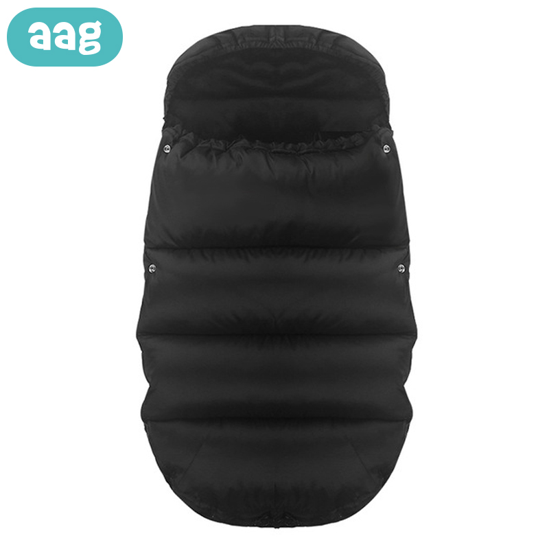 AAG Thick Warm Waterproof Newborn Stroller Envelope for Discharge Newborns Diaper Cocoon Baby Sleeping Bag Sack Swaddle Wrap