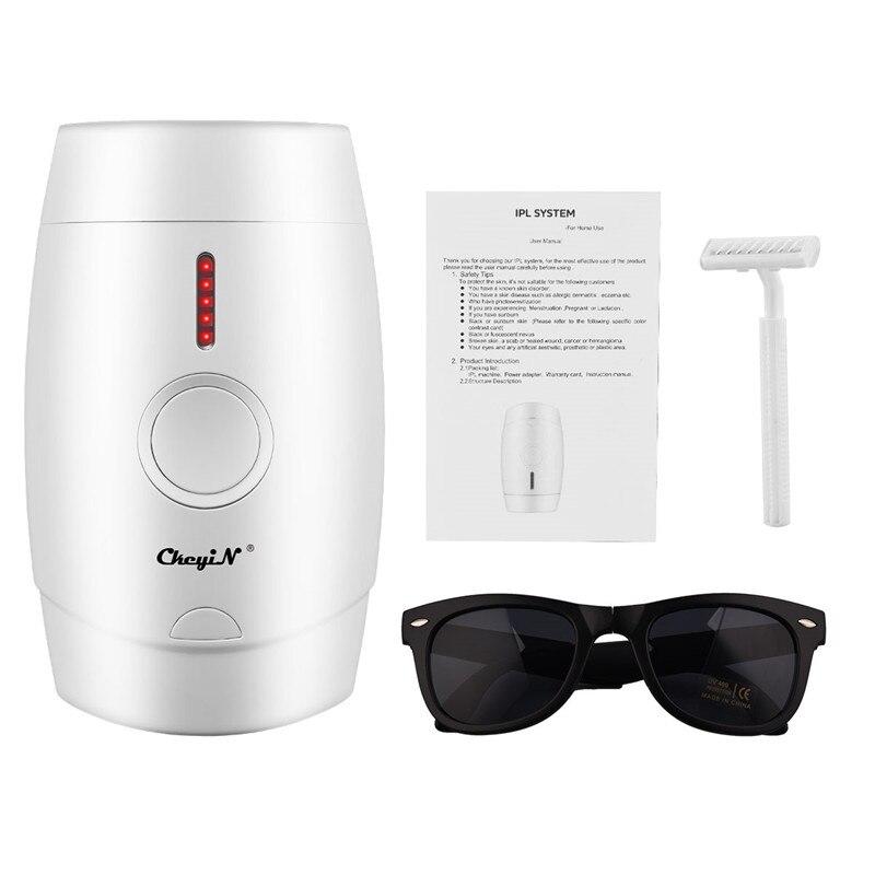 Depilador a Laser Remoção do Cabelo Removedor de Pêlos Flashes Facial Depilador Indolor Corpo Trimmer 800000 Ipl
