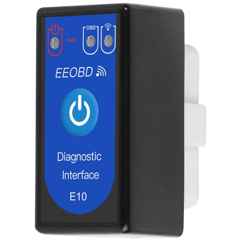 E10 Latest EEOBD WIFI Car Diagnostic Tool OBD2 Car Detector OBD2 Car Diagnostic Tool ELM327 Bluetooth 4.0 3.0 WIFI Car Test Tool