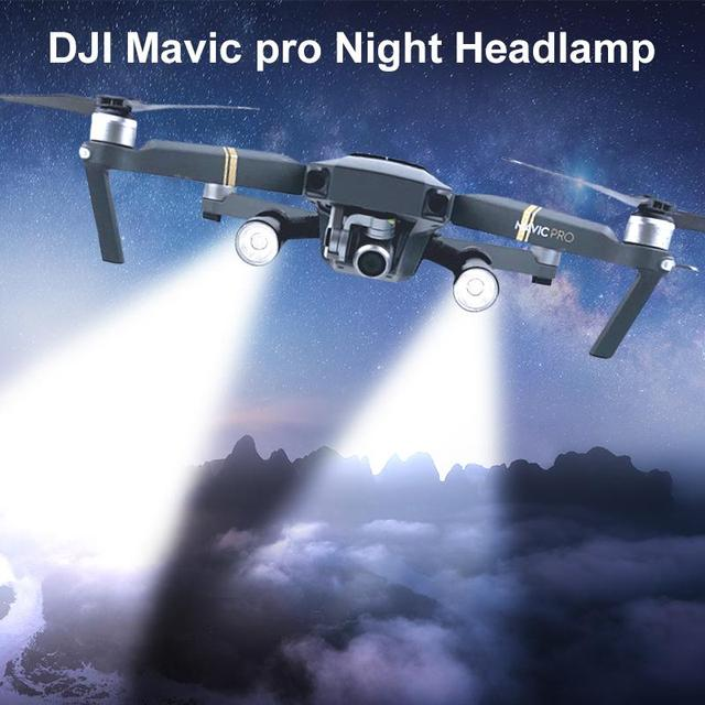 Night Lamp Voor Dji Mavic Pro Flash Led Filght Licht Lamp Kit Voor Dji Mavic Pro Night Flight Zoeken Verlichting drone AccessoiresLandingsgestel