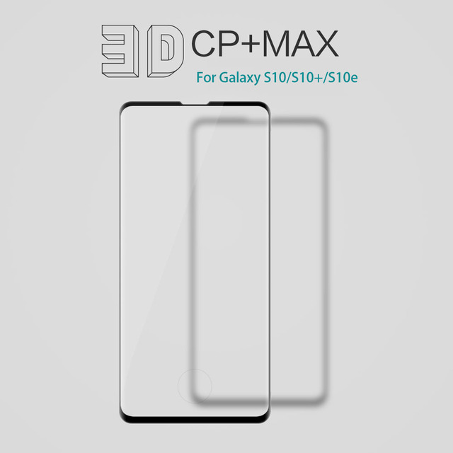 For Samsung Galaxy S10 S10e S10+ S9 S8+ S9+ Plus Tempered Glass Nillkin 3D CP+Max Anti Explosion Full Screen Protector Glass