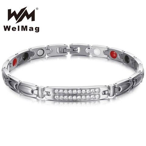 Купить welmag германий магнитные лечебные браслеты и из нержавеющей