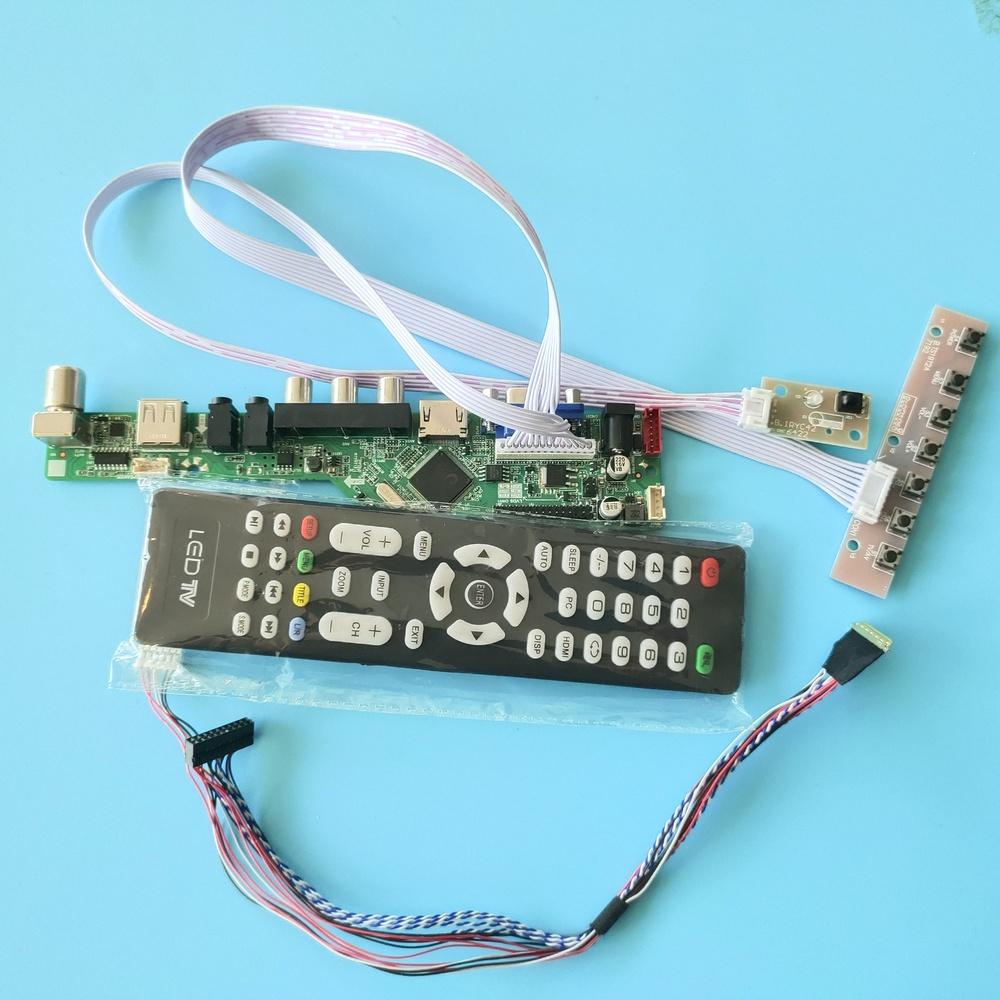 kit for B154PW04 V6 40pin LVDS 1440X900 LCD LED Controller driver board TV AV 15.4\