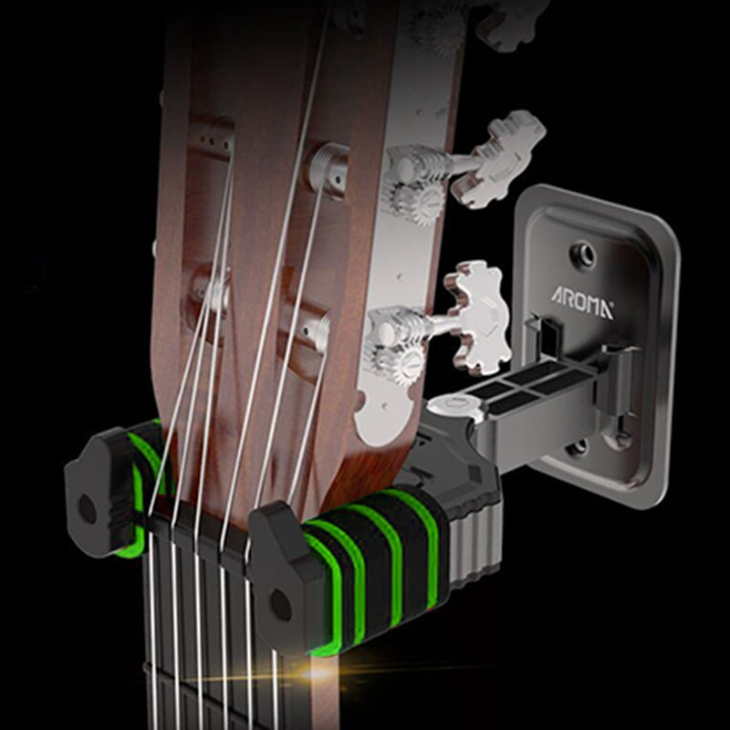 Instrument Stand Wall Hanger Hook Holder Stand for Bass Guitar Ukelele Violin Neck Support Racks image