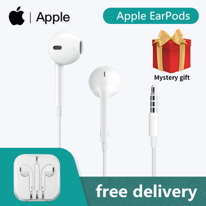 Original Apple EarPods 3.5mm Plug Connector Wired Earphones Microphone For iPhone SE 5S 5C 6 6s Plus For iPad