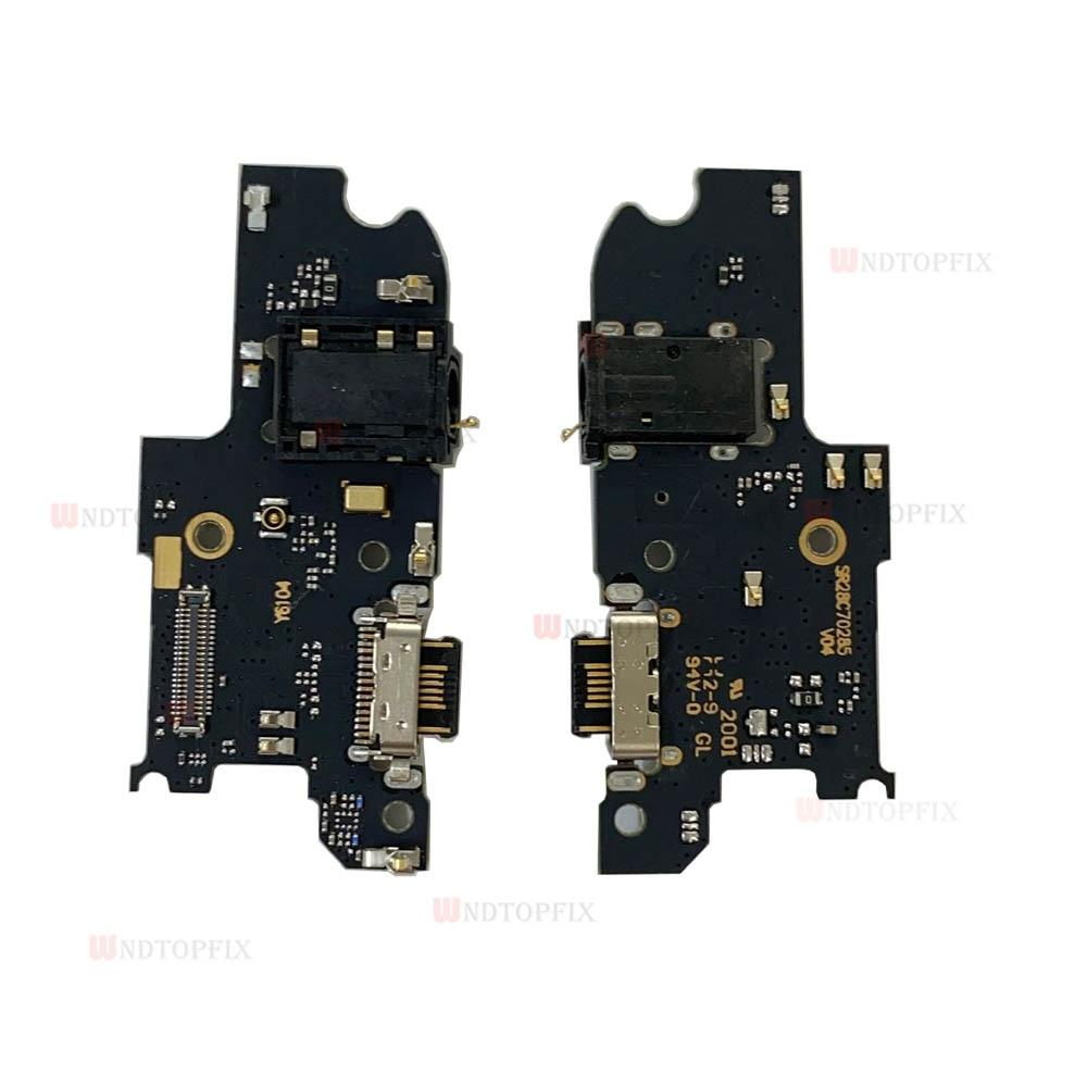 Moto One Fusion Plus USB charging port