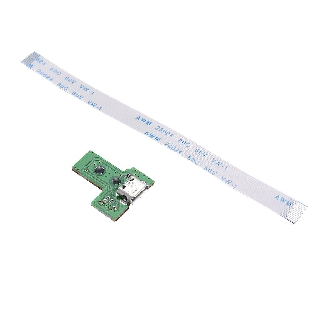 USB Charging Port Socket Board JDS-001/JDS-011/JDS-030/JDS-040/JDS-055 for PS4 Controller Dualshock with 12/14 Pin Flex Cable(China)