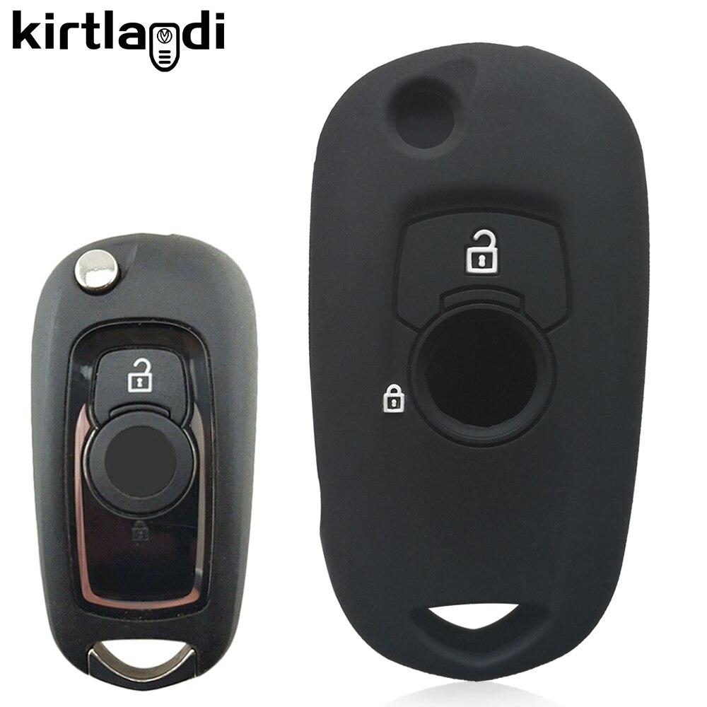 2 кнопки силиконовый чехол для ключей от машины крышка Держатель для Opel Vauxhall Astra K Corsa E 2015 2016 2017 2018 2019 брелок для ключей Защитная крышка