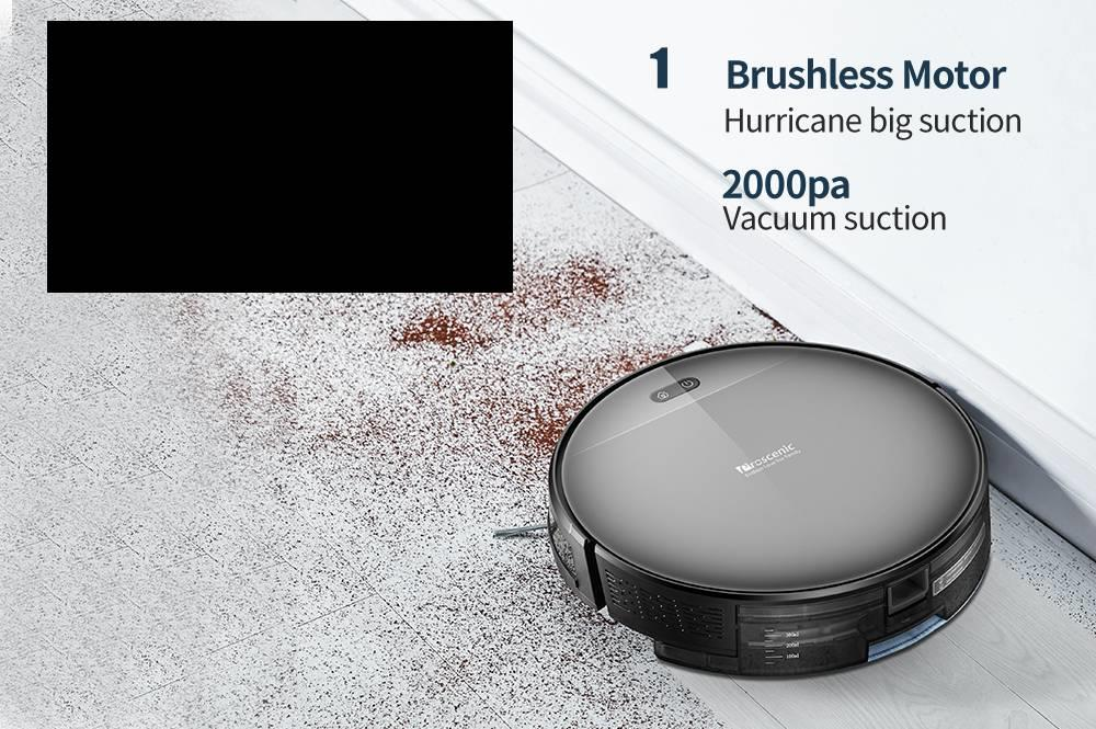 H11836f2218a74539bcdccbbd96909d35z Proscenic 800T Robot Vacuum Cleaner Automatic Sweeping Dust Mopping Mobile App Remote Control Planned Robotic
