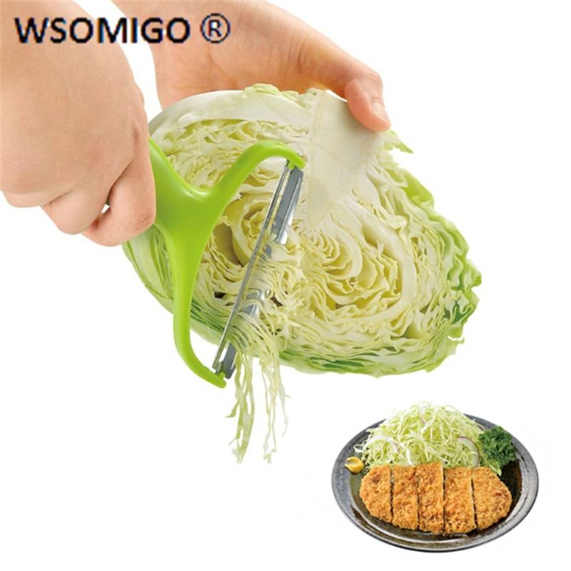 Kitchen Accessories Vegetable Peeler Cabbage Grater Salad Potato Slicer Cutter Knife Fruit Knife Kitchen Gadget Cooking Tool -C