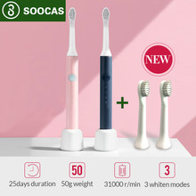 Xiaomi – brosse à dents électrique à ondes sonores, Rechargeable, SOOCAS SO Electric, mijia 5