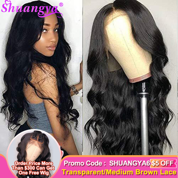 Peruvian Body Wave Lace Front Wigs Remy Lace Front Human Hair Wigs 13X4/13X6/360 Lace Frontal Wigs Pre Plucked With Baby Hair