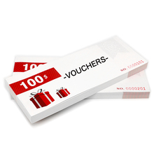 Customise Vouchers Character Design Promotion Gift Vochers B