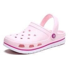 LLUUMIU clogs for women women garden sandals women 2020 Brand Crocse Shoe Croc L