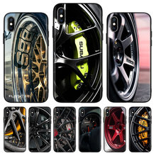 Sports car wheel Black Cover Phone Case For Huawei Mate 30 20 10 P30 P20 P10 Pro Lite P Smart Z 2019 Luxury Coque Shell(China)