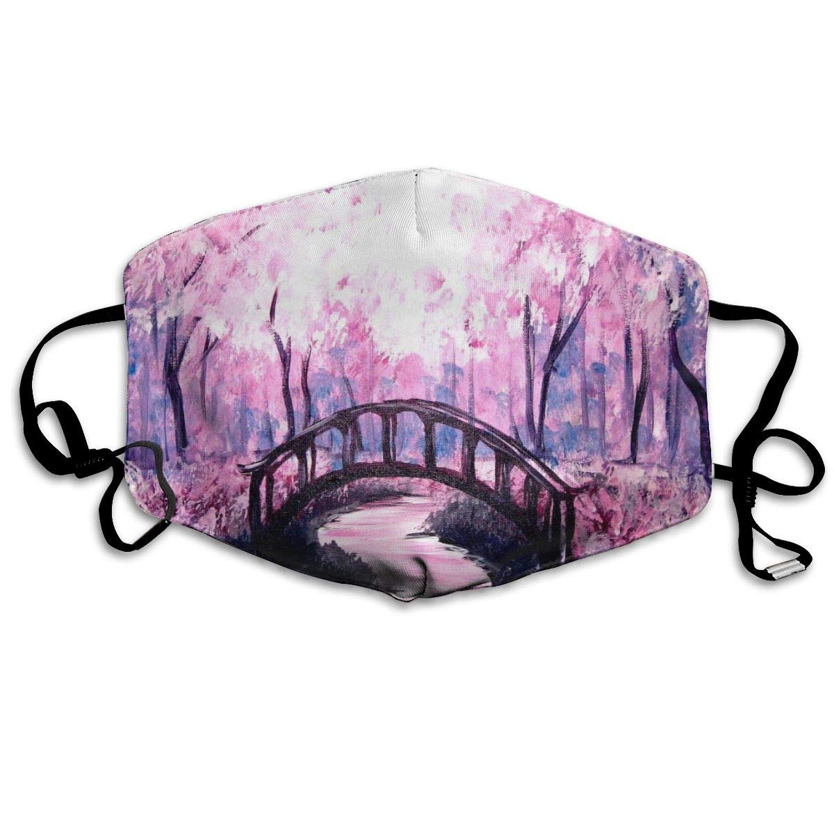 Reusable Polyester Anti-dust Fashion Printed Face Masks For Adults And Children
