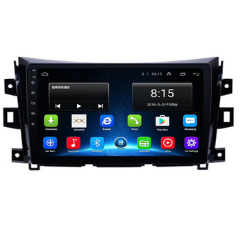 4G LTE Android 10 For NISSAN NAVARA Frontier NP300 2011 2012 2013 - 2020 Multimedia Stereo Car DVD Player Navigation GPS Radio image